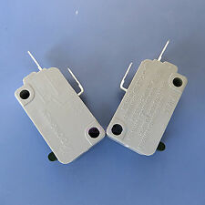 2 Pcs Microwave Oven Kw3A Door Micro Switch Normally Open Dr52