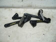 KAWASAKI ZZR1400 2006  -  REAR FOOTREST HANGERS AND PEGS COMPLETE