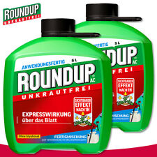 Roundup Unkrautfrei 2x 5L AC Fertigmischung Gylphosatfrei Garten Wegerich Moos