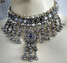 New Kuchi Tribal Necklace Earring Gypsy Hippie Dance Boho Skirt Costume Jewelry