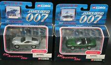 Corgi Jaguar XKR + Aston Martin V12 Vanquish James Bond Die Another Day H6.141