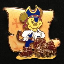 DISNEY PIN - MICKEY MOUSE Pirate Treasure Chest POTC Vacation Cruise 2005 LE New