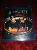 DC BATMAN BLUE BLU RAY DISC WITH MICHAEL KEATON
