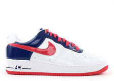 NIKE AIR FORCE 1 Premium South Korea WORLD CUP White Blue Red Mens sz 11.5 Shoes