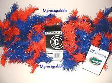 University of Florida Gators 9 Foot Pine Garland - Orange & Blue Dorm Tail Gate