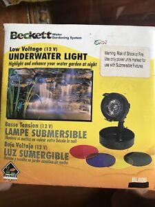 Beckett Underwater pond lights