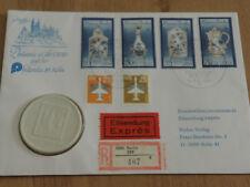 DDR Numisbrief 1989 Philatelie in der DDR auf Philatelia 89, Köln Meiße  (NBA-2)