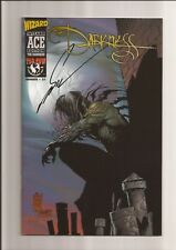 WIZARD ACE EDITION #21: THE DARKNESS #1 NM- 9.2 *SIGNED BY MARC SILVESTRI* 1997