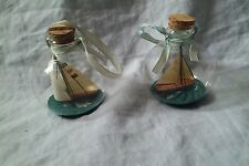 Lot of 2 Cup Racer Xmas Ornaments Authentic Models America's Cup Yachts Boats