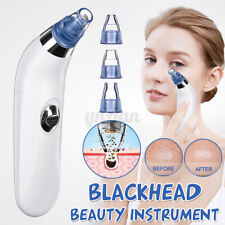 Electric Skin Facial Cleanser Care Blackhead Vacum Acne Cleaner Pore Remover