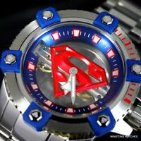 Invicta DC Comics Superman Octane Ghost Steel Mechanical 48mm Limited Watch New