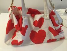 Large Love Hearts print Gym/Weekend Bag Brand: Ban.Do