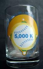 "Nolan Ryan Glass 5,000 K Strike Outs with Facsimilie Autograph 4 1/2"" Tall"