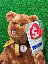 Retired Ty Beanie Baby Exclusive 2002 FIFA World Cup England The Champion Bear