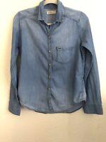 Hollister ~ Women's / Misses Denim Look Lightweight Shirt , Size S