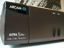 Arcam Alpha 5 FM/AM Radio Tuner Hi-End model Alpha 5 plus
