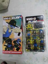 Hasbro KRE-O SDCC Exclusive - G. I. Joe - Slaughter's Marauders figure pack