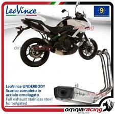 Leovince UNDERBODY Full exhaust system steel 2:1 Kawasaki Versys 650 2015>2016