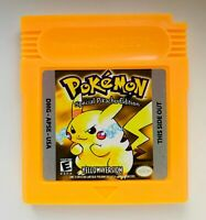 Pokemon Yellow Version for GameBoy Color (GBC)
