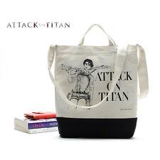 Attack on Titan Levi Shopping Bag Tote Messenger Japan Anime Canvas Beams
