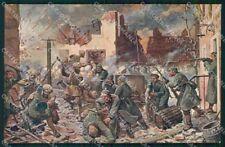 Militari La Grande Guerra Europea Tedeschi Polli serie 719-1 cartolina XF8215