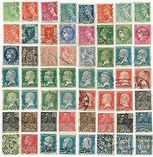 France, 1886 / 1942 - 56 timbres - Livraison offerte dès 5 lots en achat groupé