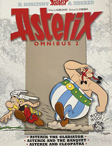 Asterix Omnibus 2: Includes Asterix the Gladiator #4, Asterix and the Banquet…