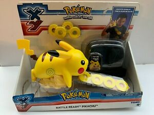 2014 POKEMON BATTLE READY PIKACHU BY TOMY