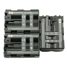 DSTE 3x NP-FM500H Battery For SONY A300 A900 A99 A700 A700K A200W A550 A100W