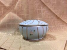 Ucagco Ceramics Japan Round Trinket Box