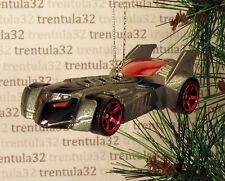 BATMAN Batmobile CHRISTMAS TREE ORNAMENT XMAS Grey/Black/Red