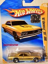 Hot Wheels 2010 New Models '67 Chevelle Ss 396 #44/44 Gold Factory Sealed W+