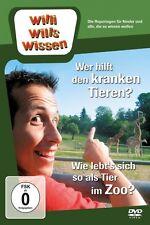 WILLI WILLS WISSEN - WER HILFT DEN KRANKEN TIEREN?/TIERE IM ZOO  DVD NEU