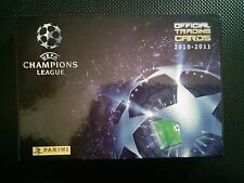 COLECCIÓN COMPLETA PANINI UEFA CHAMPIONS LEAGUE OFFICIAL TRADING CARDS 2010-2011