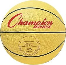 New Champion Official Size Weighted Training Basketball Trainer Comp Rubber 2 lb