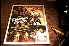 BURNING CROSS ORIG MOVIE POSTER 1947 CONTROVERSIAL