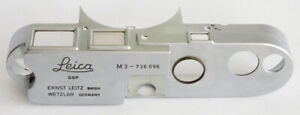 Leica Leitz Part early M3 Top Plate chrome used for Parts