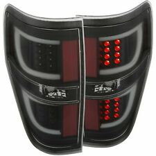 Anzo 311257 Led Tail Lights G2 Black Fits 2009 - 2014 Ford F - 150