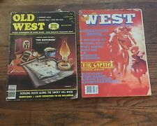 Old West And Far West Magazine Lot 1981 1978