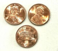 1991 P D S  UNCIRCULATED LINCOLN CENTS + PROOF (3 COINS)
