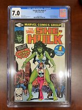 savage she-hulk she hulk #1 marvel comic cgc 7.0 Off-to white pages 1st Appear