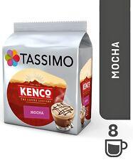 1 x Pack Tassimo Kenco Mocha Large T Discs Pods - 8 Large T Discs 8 Drinks