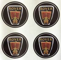 4x 35 mm fits rover wheel STICKERS center badge centre trim cap hub alloy