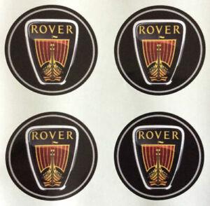 4x 60 mm fits rover wheel STICKERS center badge centre trim cap hub alloy