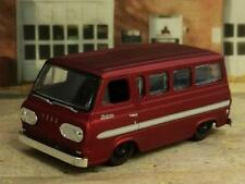 Slammed 1965 65 FORD ECONOLINE Window Van Cruiser 1/64 Scale Limited Edition I7
