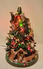 Danbury Mint Corgi Dog Christmas Tree Lighted Figurine Retired Rare Please Read