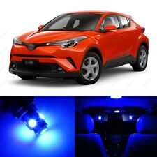 10 x Blue LED Interior Lights Package For 2018 and Up Toyota C-HR CHR +PRY TOOL
