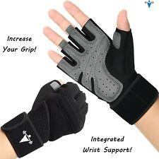 Half Finger Workout Gym Gloves Sport Weight Lifting Exercise Fitness Women Men