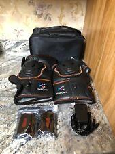 New HailiCare Heated Knee Massager Heat & Vibration Knee Brace Wrap