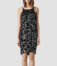 "***ALLSAINTS ""MASSI"" EMBELLISHED DRESS SIZE ""4""(US)/ ""8""(UK) w TAGS (ORIG $640!)"